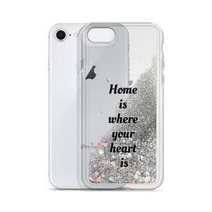Home -Liquid Glitter Phone Case