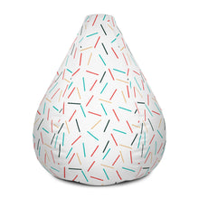 Load image into Gallery viewer, Sprinkles-Bean Bag Chair w/ filling