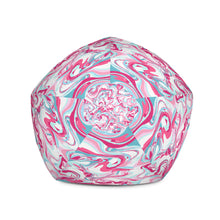 Load image into Gallery viewer, Pink Marble-Bean Bag Chair w/ filling