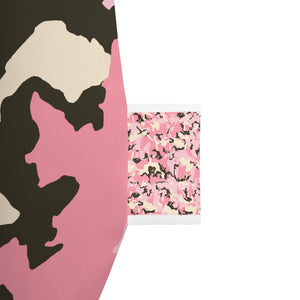 Camo Pink-Bean Bag Chair w/ filling
