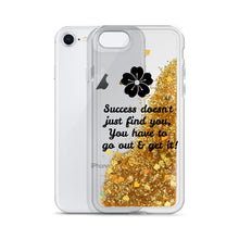 Load image into Gallery viewer, Success-Liquid Glitter Phone Case