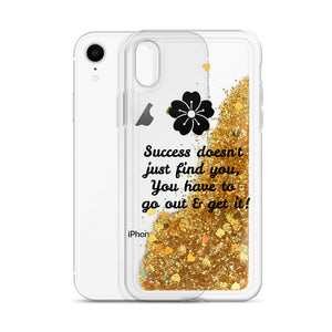 Success-Liquid Glitter Phone Case