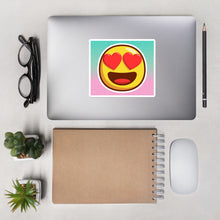 Load image into Gallery viewer, Love Emoji-Bubble-free stickers