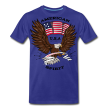 Load image into Gallery viewer, American Spirit-Men's Premium T-Shirt - royal blue