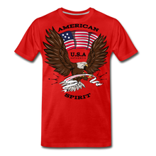 Load image into Gallery viewer, American Spirit-Men's Premium T-Shirt - red