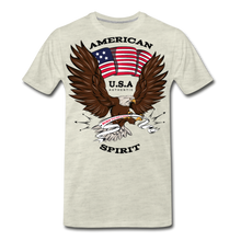 Load image into Gallery viewer, American Spirit-Men's Premium T-Shirt - heather oatmeal