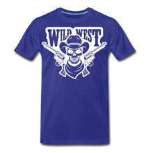 Load image into Gallery viewer, Wild West-Men's Premium T-Shirt - royal blue