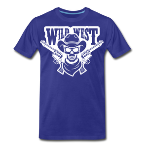 Wild West-Men's Premium T-Shirt - royal blue