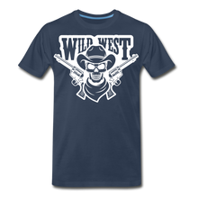 Load image into Gallery viewer, Wild West-Men's Premium T-Shirt - navy