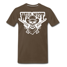 Load image into Gallery viewer, Wild West-Men's Premium T-Shirt - noble brown