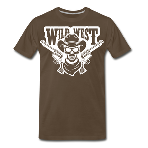 Wild West-Men's Premium T-Shirt - noble brown