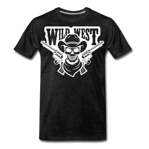 Wild West-Men's Premium T-Shirt - charcoal gray