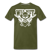 Load image into Gallery viewer, Wild West-Men's Premium T-Shirt - olive green