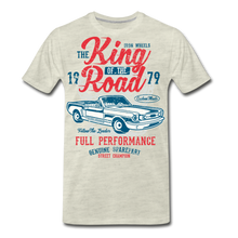 Load image into Gallery viewer, King Of The Road-Men's Premium T-Shirt - heather oatmeal