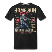 Load image into Gallery viewer, Home Run -Men's Premium T-Shirt - black