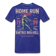 Load image into Gallery viewer, Home Run -Men's Premium T-Shirt - royal blue