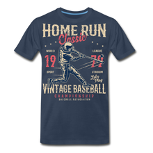 Load image into Gallery viewer, Home Run -Men's Premium T-Shirt - navy