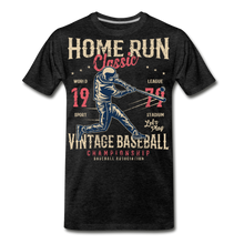 Load image into Gallery viewer, Home Run -Men's Premium T-Shirt - charcoal gray