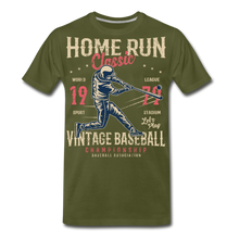 Load image into Gallery viewer, Home Run -Men's Premium T-Shirt - olive green
