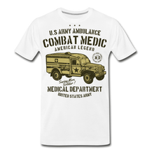 Load image into Gallery viewer, Combat Medic-Men's Premium T-Shirt - white