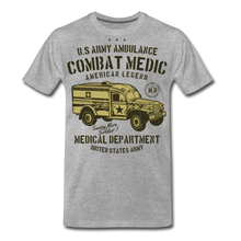 Load image into Gallery viewer, Combat Medic-Men's Premium T-Shirt - heather gray