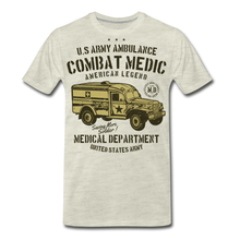 Load image into Gallery viewer, Combat Medic-Men's Premium T-Shirt - heather oatmeal