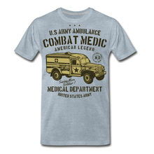 Load image into Gallery viewer, Combat Medic-Men's Premium T-Shirt - heather ice blue