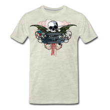 Load image into Gallery viewer, Skull-Men's Premium T-Shirt - heather oatmeal