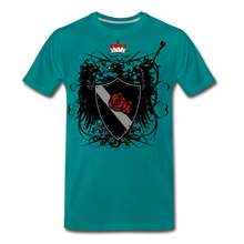 Load image into Gallery viewer, Crest-Men's Premium T-Shirt - teal