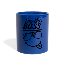 Load image into Gallery viewer, I'm The Boss-Full Color Mug - royal blue