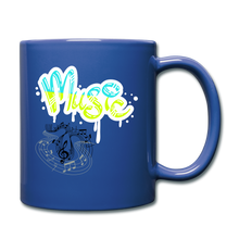 Load image into Gallery viewer, Music-Full Color Mug - royal blue