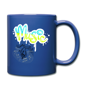 Music-Full Color Mug - royal blue