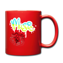 Load image into Gallery viewer, Music-Full Color Mug - red