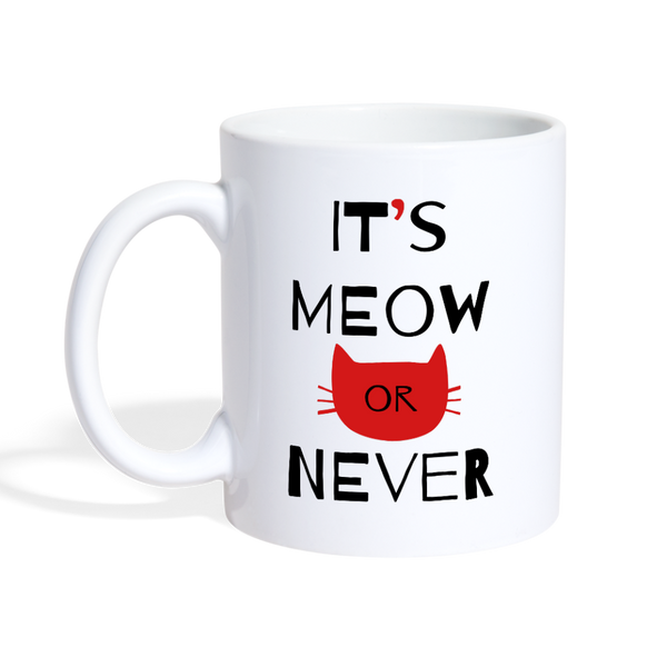 It's Meow-Coffee/Tea Mug - white