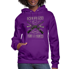 Load image into Gallery viewer, Born & Raised-Women's Hoodie - purple