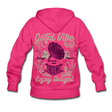 Load image into Gallery viewer, Good Vibes-Women's Hoodie - fuchsia