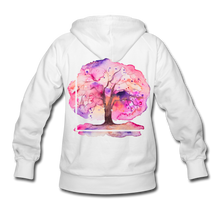 Load image into Gallery viewer, Think Out Of -Women's Hoodie - white