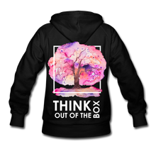 Load image into Gallery viewer, Think Out Of -Women's Hoodie - black