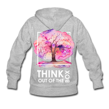 Load image into Gallery viewer, Think Out Of -Women's Hoodie - heather gray