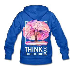 Think Out Of -Women's Hoodie - royal blue