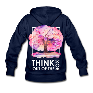 Think Out Of -Women's Hoodie - navy