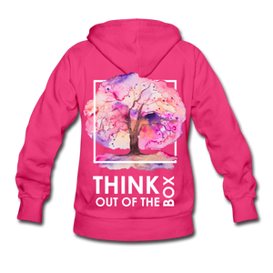Think Out Of -Women's Hoodie - fuchsia