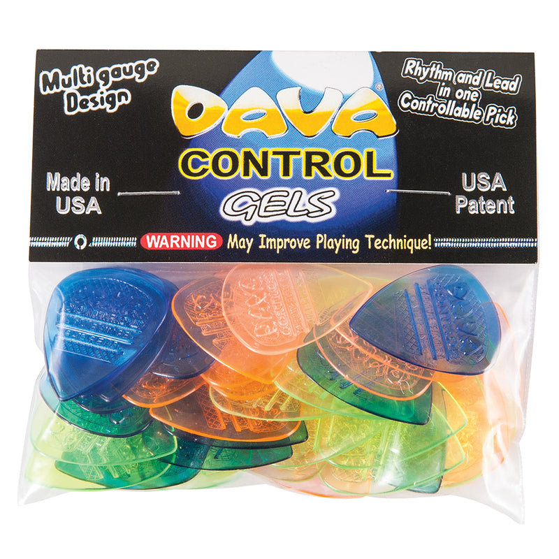 Dava 'Control Gels' Picks ~ 36 Pack