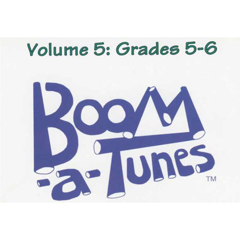 Boomwhackers Boom-A-Tunes CD ~ Volume 5