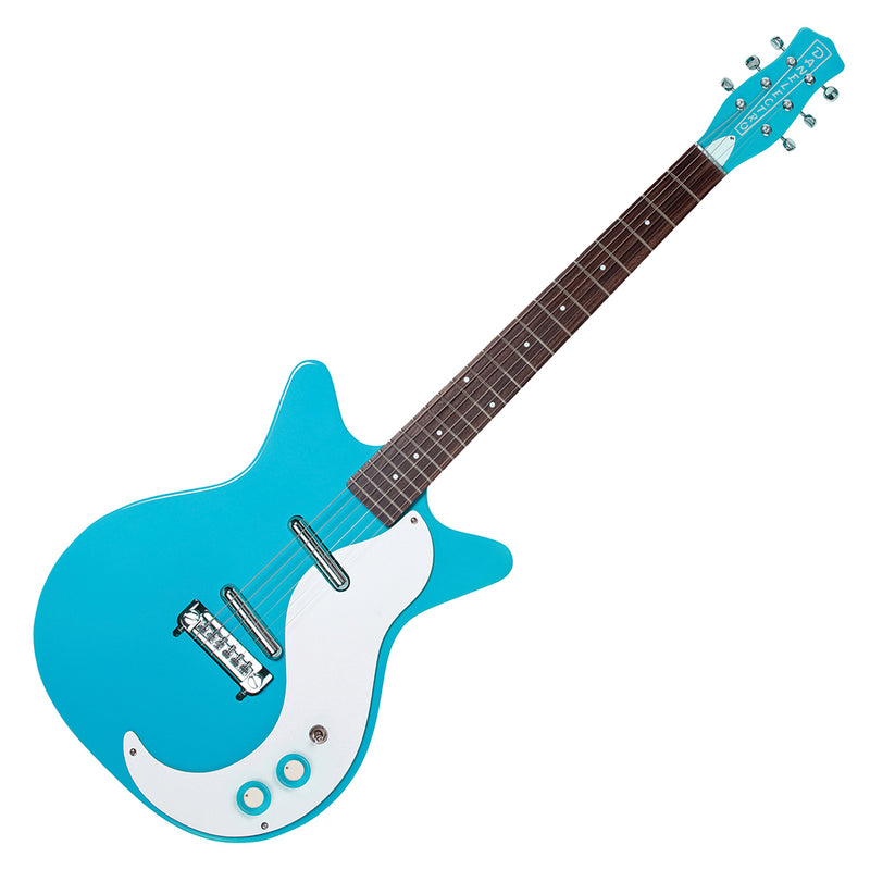 Danelectro '59M NOS Guitar ~ Baby Come Back Blue