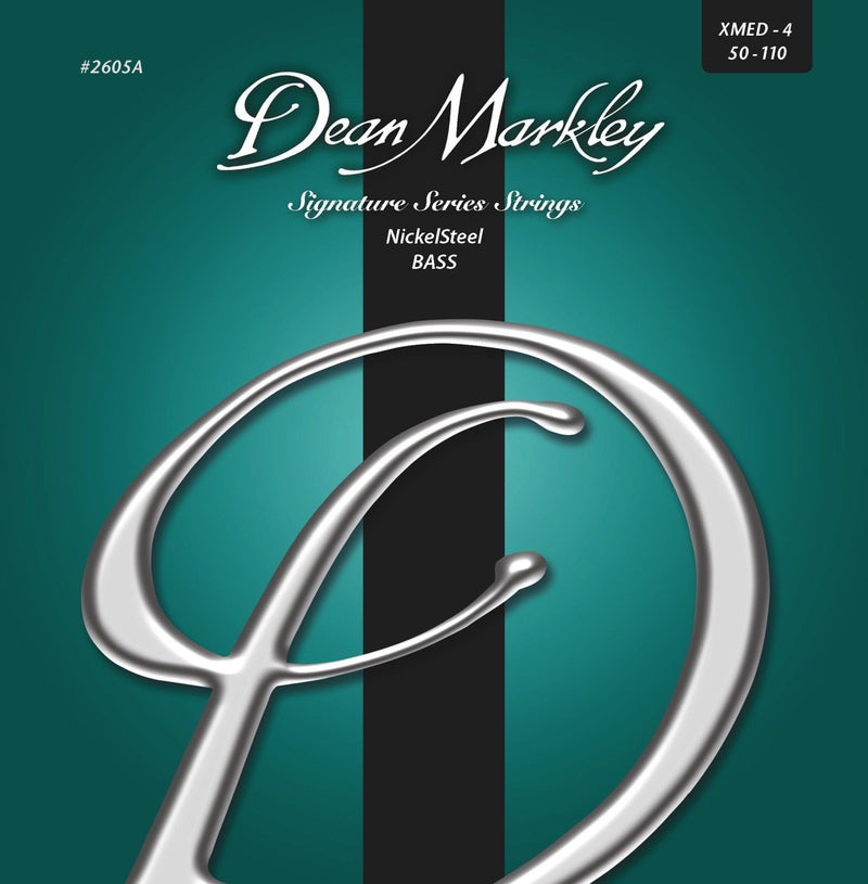Dean Markley NickelSteel Signature Bass Strings Extra Medium 4-String 50-110