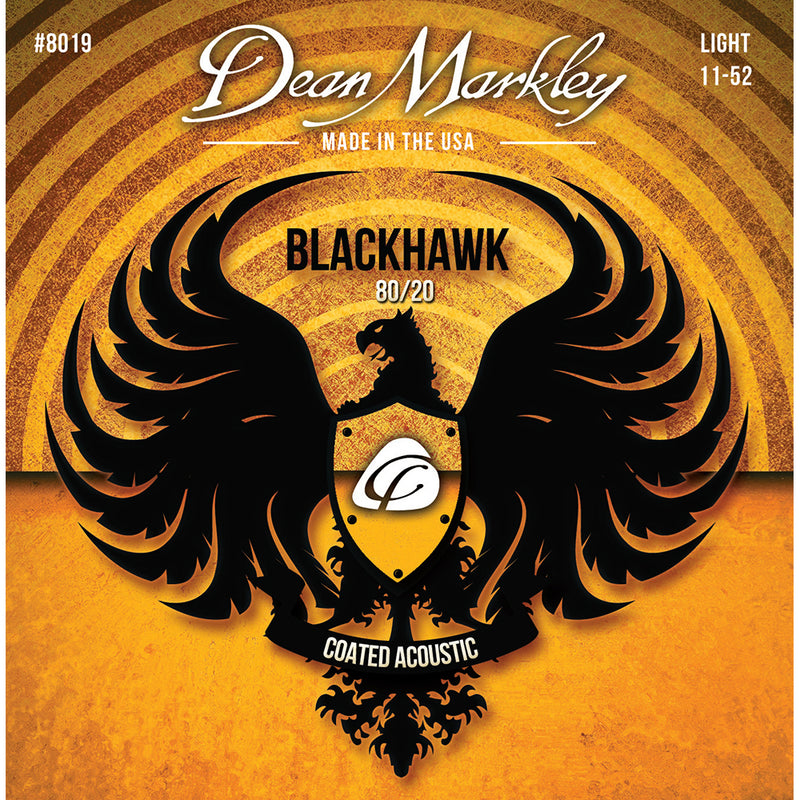 Dean Markley Blackhawk Acoustic 80/20 Light 11-52