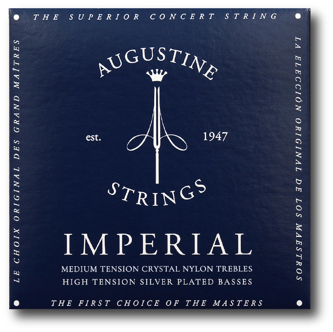 Augustine Imperial Blue String Set