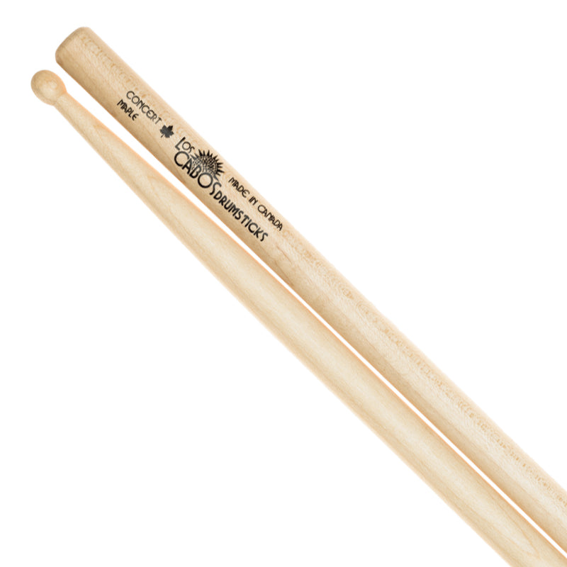 Los Cabos Concert Maple Drumstick ~ Wood Tip