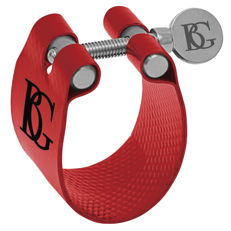 BG Eb Clarinet Flex Fabric Ligature ~ Red